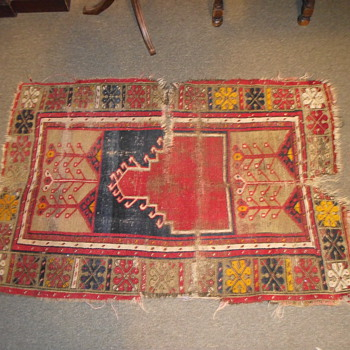 Old Rug, Possibly Kilim? Not Sure, Need Help Indentifying - Rugs and Textiles