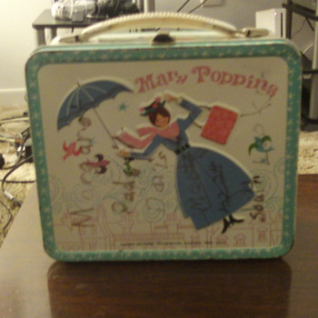 1964 Aladdin Mary Poppins Lunchbox
