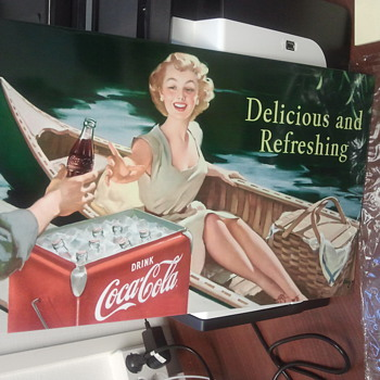 Vintage Coca Cola sign - Signs