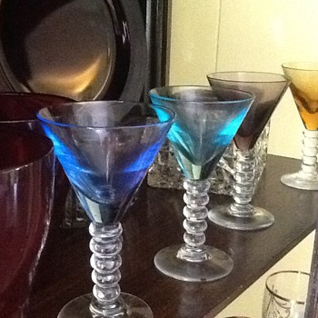 Shot Glasses Handblown Glass