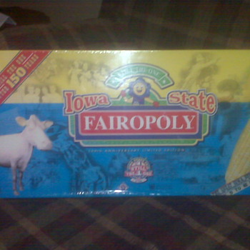 "Iowa State Fair 150th Anniversary ""Fairopoly"" Board Game"