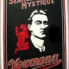 Original 1920 Newmann The Great &quot;Seance Mystique&quot; Stone Lithograph Poster