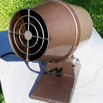 Mid Century Atomic Age Design Wittie Oscillating Fan