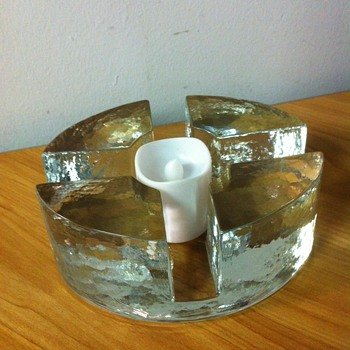 Scandinavian Tea Light Pot/Plate warmer