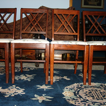 Oak Dining Chairs - Furniture
