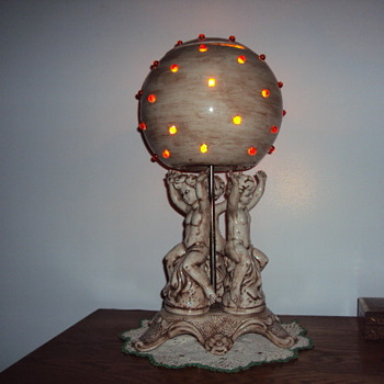 Jamar ceramic lamp