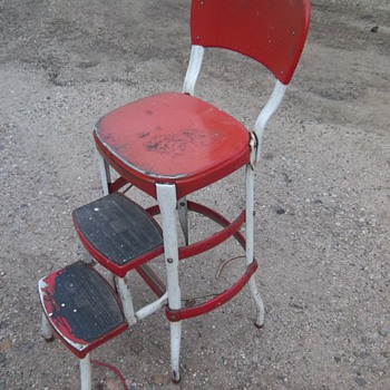 Antique chair stool
