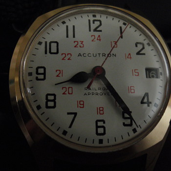 '74 Accutron Railroad South Pacific Railroad - Wristwatches