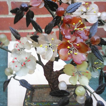 My cloisonne bonsi tree