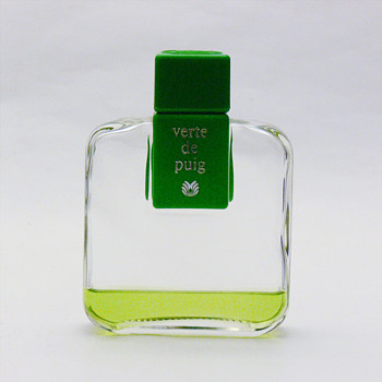 Bottle of VERTE eau de cologne. Andr Ricard (1978)