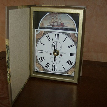 Clock in a Book - Clocks