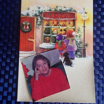 GREETINGS FROM LOIS! I SENT ALL MY SUBSCRIBERS  To MY PUBLICATION A CHRISTMAS CARD IN 200o  - Photographs