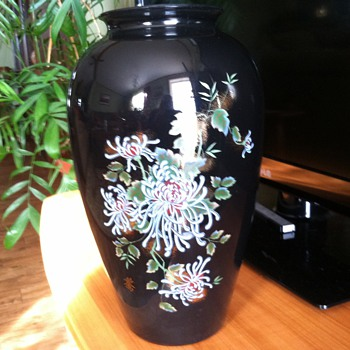 Oriental vase - Art Glass