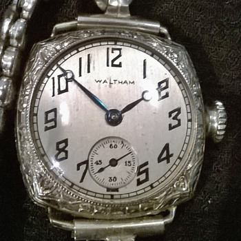 my favorite Waltham wrist watch I think from the 1800 - Wristwatches