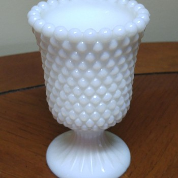 Unknown milk glass