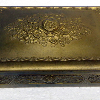 Nice Brass Box