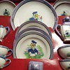 1930&#039;s Donald Duck Children&#039;s Tea Set