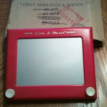 Antique Etch-a-sketch - Games