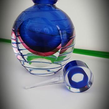 Murano Perfume Bottle - Art Glass