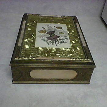 ANTIQUE JEWELRY BOX - Fine Jewelry