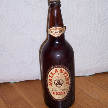 1951 Beer Bottle - Breweriana