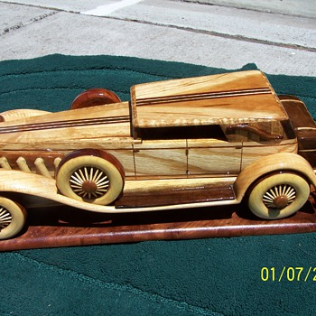 Searching for quality woodworking patterns - Model Cars