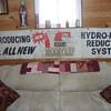 hirams bear trap recoil reducer canvas banner
