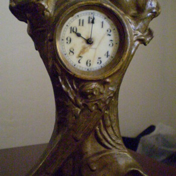 Antique Seth Thomas Wind Up - Clocks