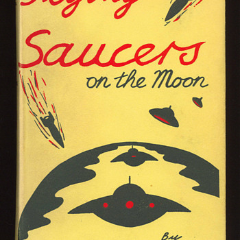 Flying Saucers on the Moon by Harold T. Wilkins - Books