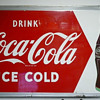 Drink Coca Cola Ice Cold Sign Large
