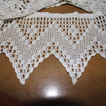 Hand Crochet Trim - Rugs and Textiles