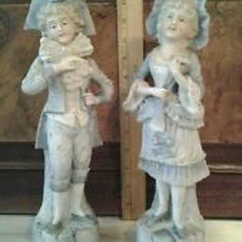 boy girl figurines 2208