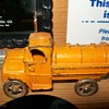 Cast iron Mack tankers
