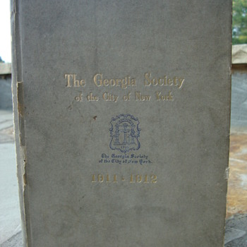 The Georgia Society of the city of New York - Books