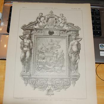 antique print