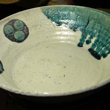 Largest of the amazing bowls from Goodwill - Art Pottery