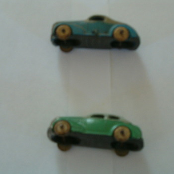 old minature cars made U.S.A.