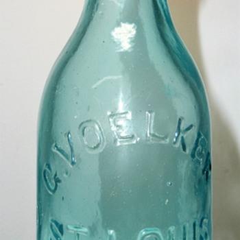 Voelker Soda Bottle - Bottles