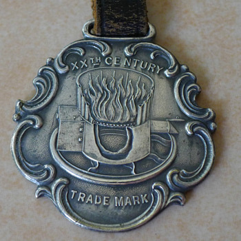 20th Century Heating & Ventilating Co Akron Ohio Watch Fob