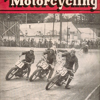 "1958 - ""American Motorcycling"" Magazine - Paper"