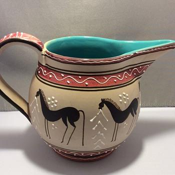 Italian  jug ? - Art Pottery