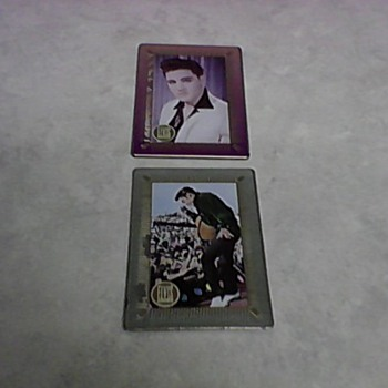 ELVIS TIN CARDS