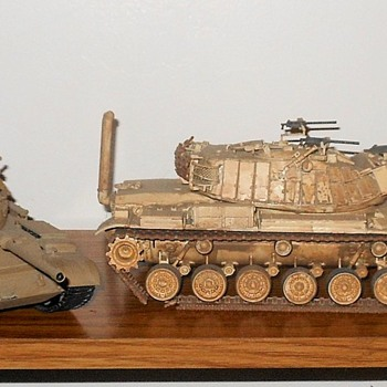 Israeli Tank Models M60 and T55 - Military and Wartime