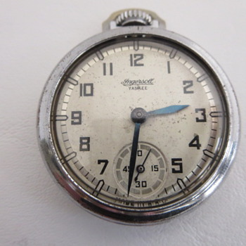 Ingersoll Yankee (smart airplane-type dial) - Pocket Watches