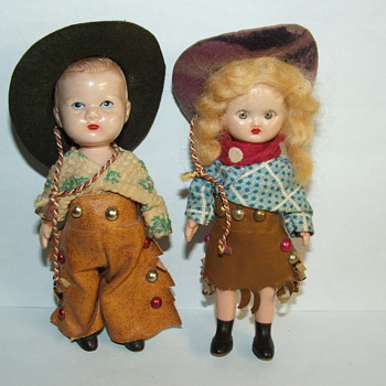 Old Antique Dolls  - Dolls