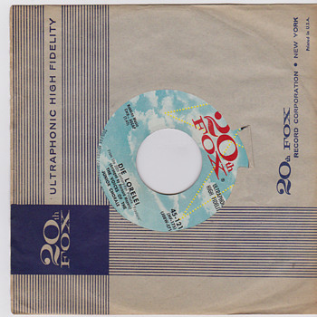 45s records from 1956s