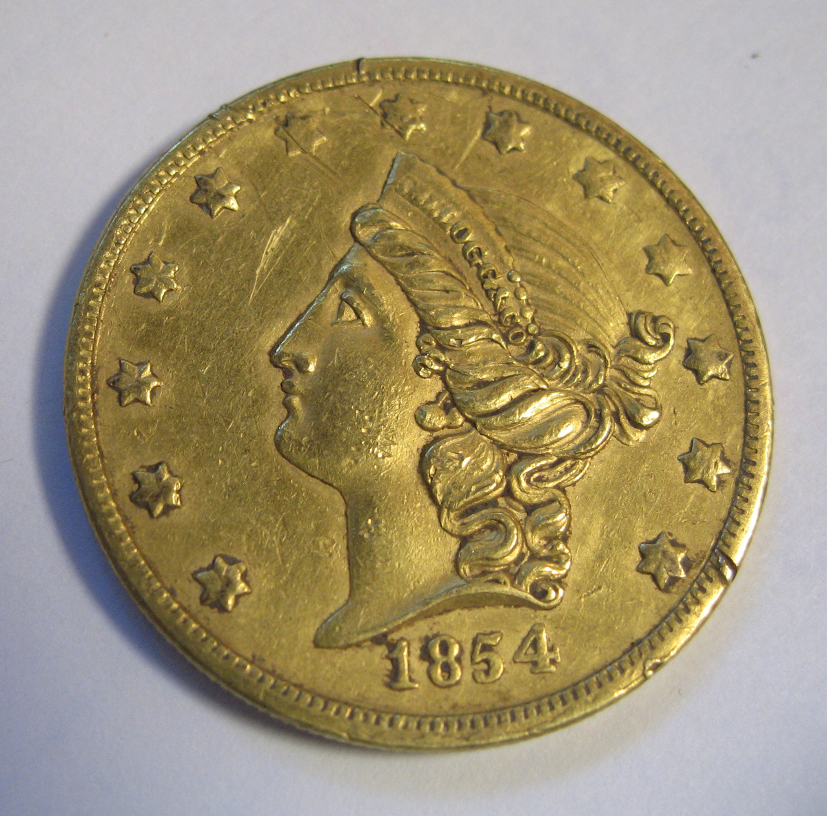 1854 Type 2 G$1 MS Gold Dollars | NGC