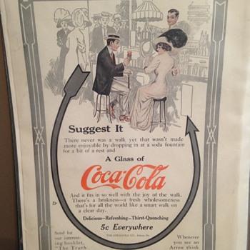 1911 Coca-Cola Paper Ad - Coca-Cola