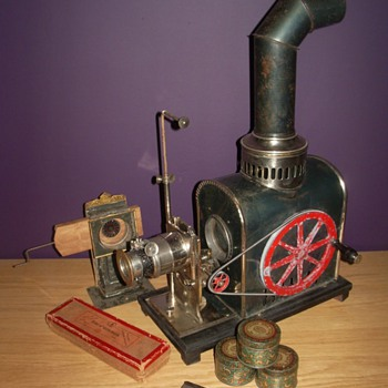 Magic Lantern/Movie projector around 1900-1905