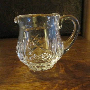 Miniature Glass Creamer possibly a Ceska Creamer